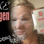 LUXE Collagen Spa Treatment Mask | Inside My Indie Life